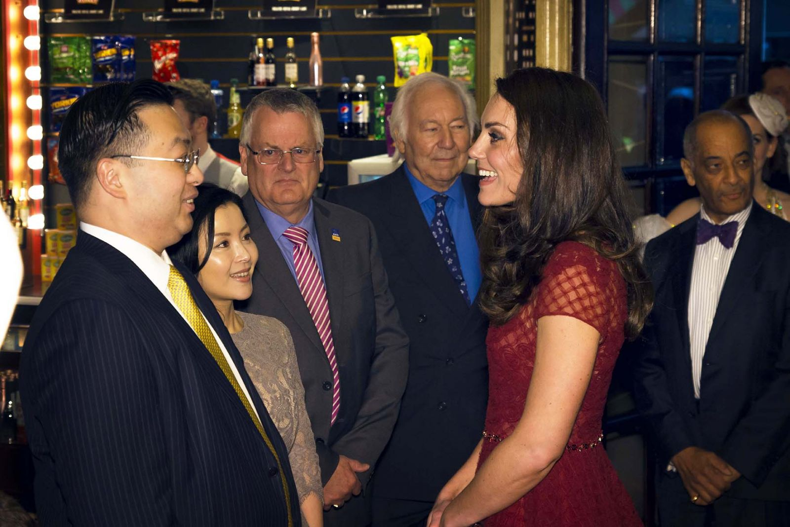 DUCHESS OF CAMBRIDGE ATTENDS 42ND STREET