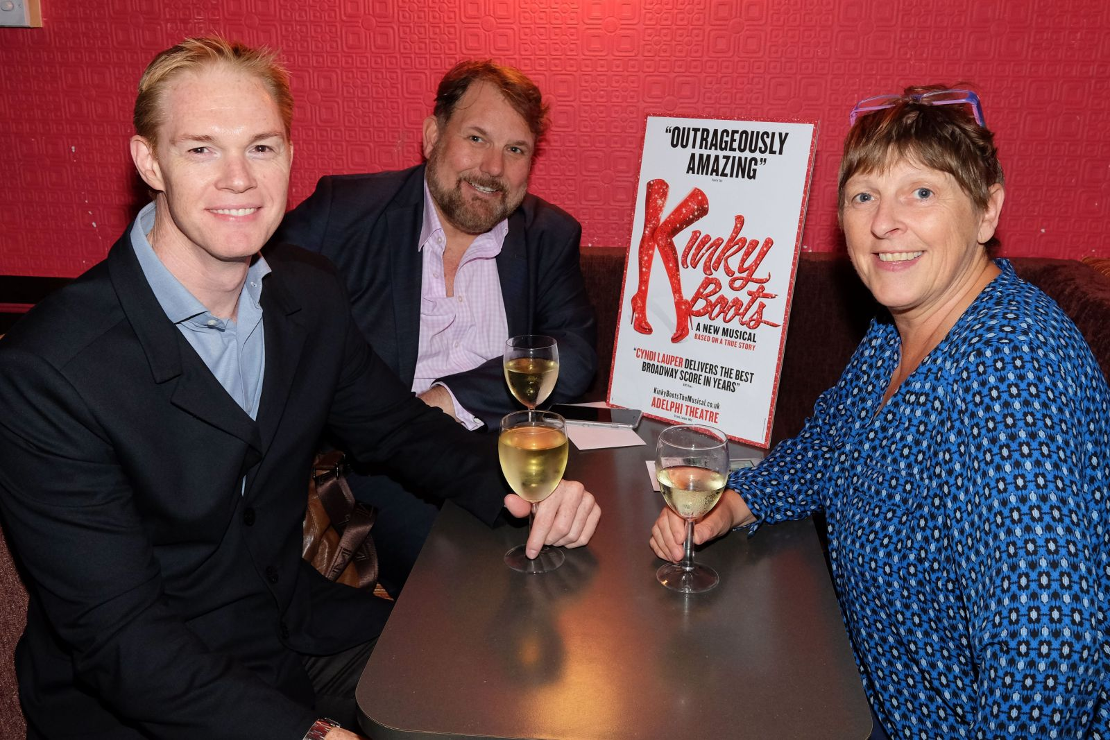 International Gay & Lesbian Travel Association FAM trip to Kinky Boots the Musical at London's Adelphi Theatre