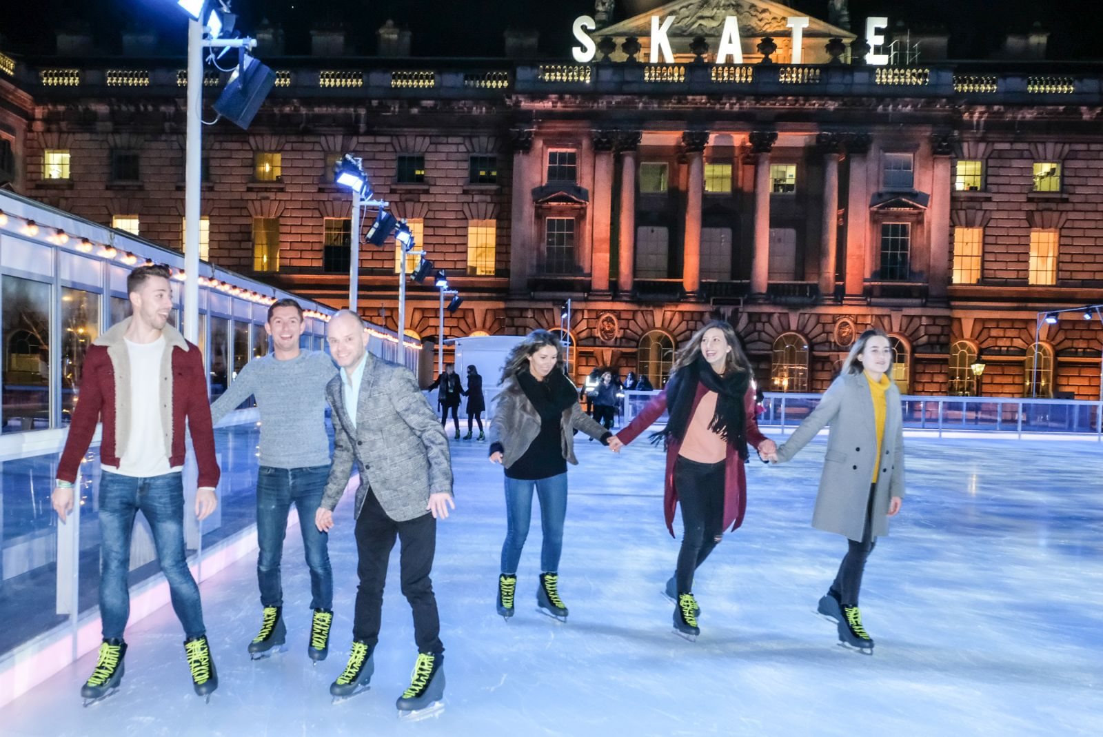 On Your Skates at Somerset House