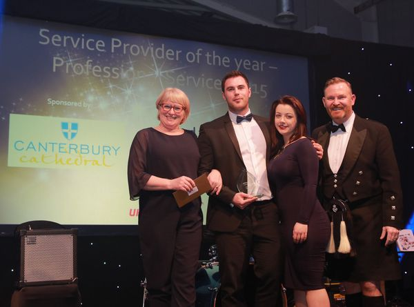 6 in a row as made win the Service Provider of the Year Award (Professional Services) 2015