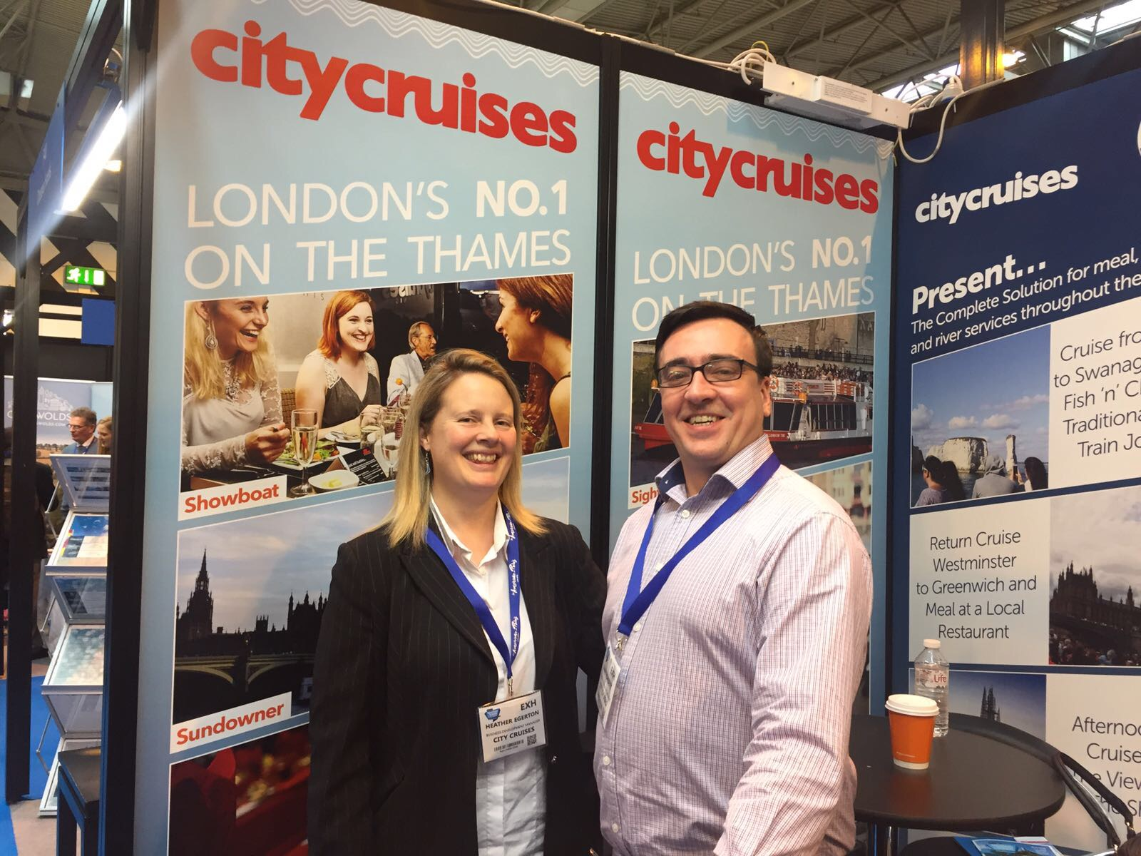 Made Tourism and City Cruises at BTTS British travel and trade show 2017