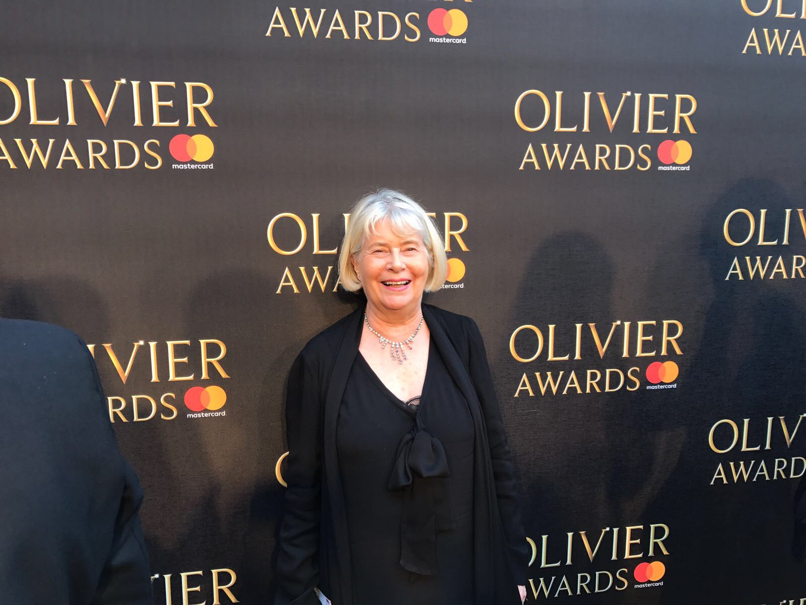 Veronica from the made tourism team at the Olivier Awards 2017