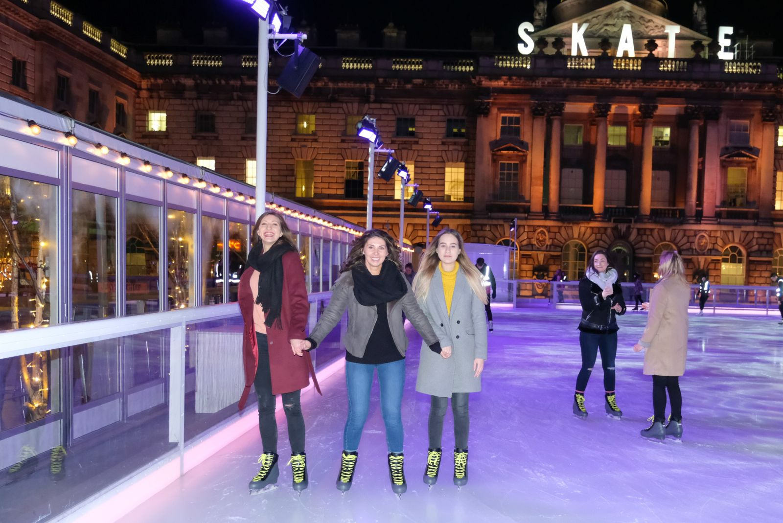 made tourism at Skate at Somerset House